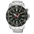 Seiko men's black stainless steel diver's watch - Product number 8895244