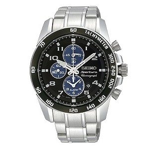 Seiko men's stainless steel bracelet watch - Product number 8895252