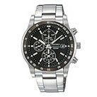 Seiko men's stainless steel bracelet chronograph watch - Product number 8895341