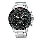 Seiko men's stainless steel bracelet chronograph - Product number 8895600