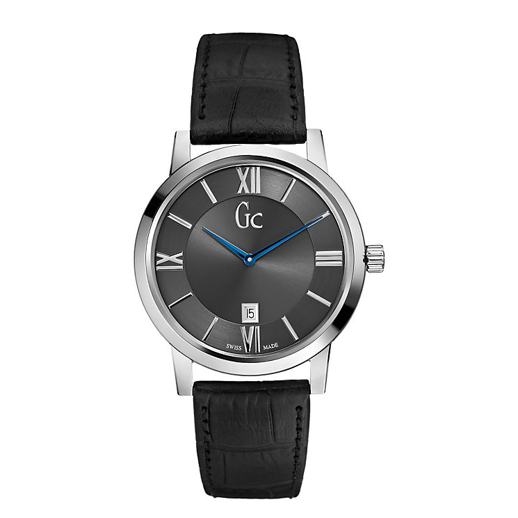 Gc men's black strap watch - Product number 8895805