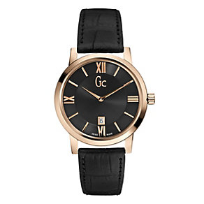 Gc men's black strap watch - Product number 8895821