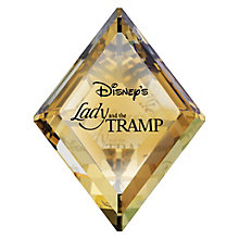 Swarovski Disney Lady & The Tramp Title Plaque - Product number 8898758