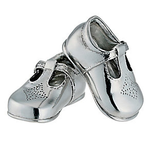 Pewter my first shoes - Product number 8899738