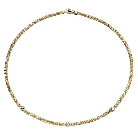 Fope 18ct diamond Rigoletto necklace