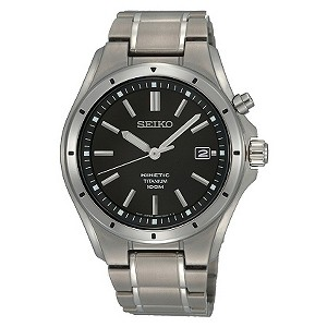 Seiko Men's Titanium Bracelet Watch - Product number 8903212