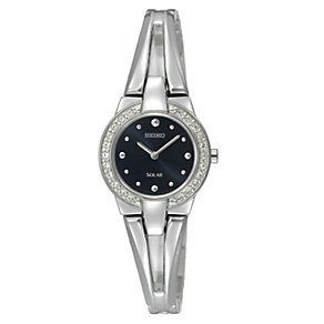 Seiko Ladies' Stoneset Stainless Steel Bracelet Watch - Product number 8903220
