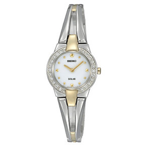 Seiko Ladies' Stoneset Bracelet Watch - Product number 8903239