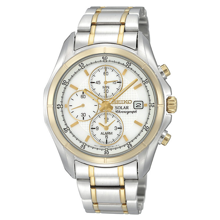 Seiko Men's Two Tone Bracelet Watch - Product number 8903301
