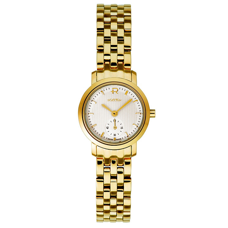 Roamer Odeon ladies' gold plated bracelet watch - Product number 8904901