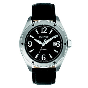 Roamer Stingray men's black dial strap watch - Product number 8904987