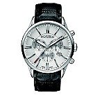 Roamer men's black strap silver chronograph watch - Product number 8905134