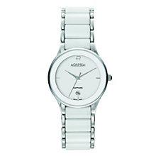 Roamer white ceramic & stainless steel bracelet watch - Product number 8905231