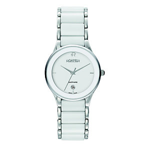 Roamer white ceramic & stainless steel bracelet watch - Product number 8905231