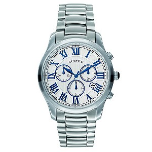 Roamer men's stainless steel bracelet watch - Product number 8905266