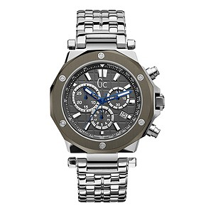 Gc men's stainless steel chronograph watch - Product number 8905363