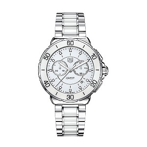 TAG Heuer Formula 1 Ladies Steel & Ceramic diamond set watch - Product number 8906343