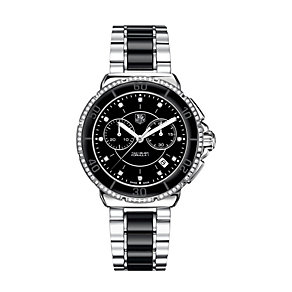 TAG Heuer Formula 1 Ladies Steel & Ceramic diamond set watch - Product number 8906351