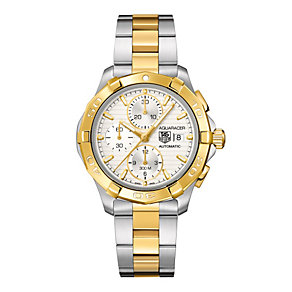 TAG Heuer Aquaracer Calibre 16 automatic two colour watch - Product number 8906440