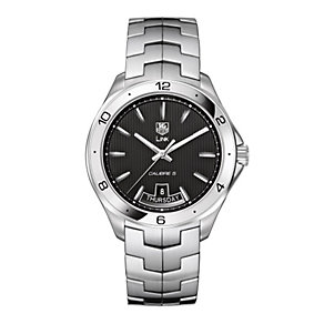 TAG Heuer Link Calibre 5 men's stainless watch - Product number 8906742