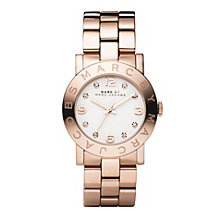 Marc Jacobs Ladies' Gold Tone Bracelet Watch - Product number 8908850