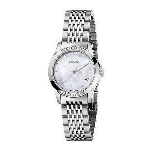 Gucci ladies' stainless steel bracelet watch - Product number 8915881