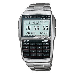Casio Stainless Steel Digital Bracelet Watch