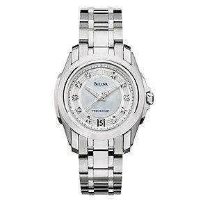 Ladies' Bulova Stainless Steel Bracelet Watch - Product number 8917760