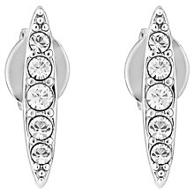 Adore Ladies' Rhodium Crystal Navette Stud Earrings - Product number 8919623