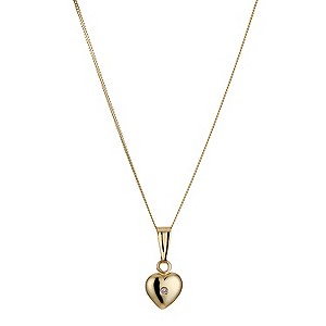Children's 9ct Yellow Gold Pendant - Product number 8920516