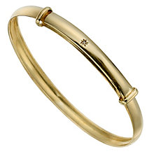 Children's 9ct Yellow Gold Bangle - Product number 8920559