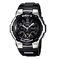 Casio Baby-G Black & Silver Watch - Product number 8939950