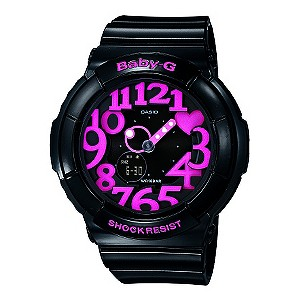 Casio Baby-G Neon Black