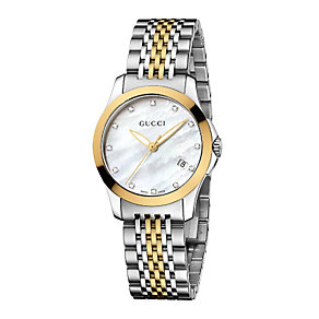 Gucci ladies' two tone bracelet watch - Product number 8940010