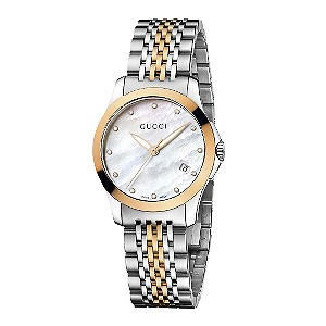 Gucci ladies' two colour bracelet watch - Product number 8940029