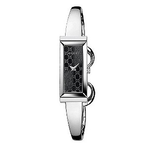 Gucci ladies' black bangle watch - Product number 8940053
