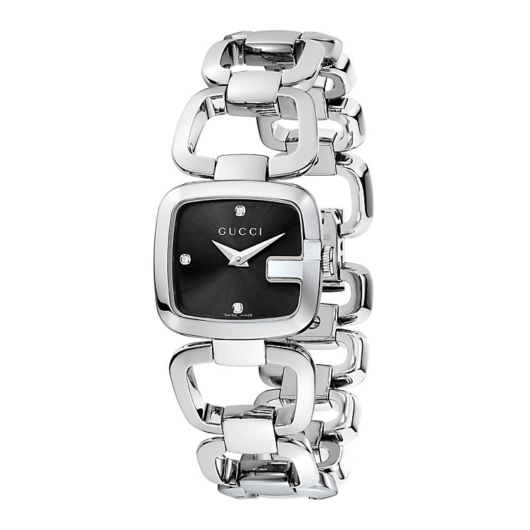 Gucci ladies' stainless steel bracelet watch - Product number 8940576