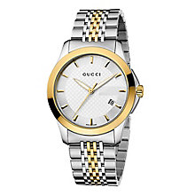 Gucci men's gold PVD bracelet watch - Product number 8941122