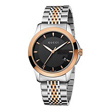 Gucci Timeless Bi-colour Men's Bracelet Watch - Product number 8941270
