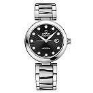 Omega Ladymatic black mother of pearl bracelet watch - Product number 8947074