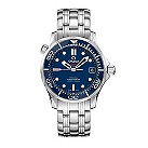 Omega Seamaster Professional men's blue dial bracelet watch - Product number 8947643