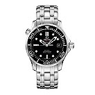 Omega Seamaster Professional men's black dial bracelet watch - Product number 8947651