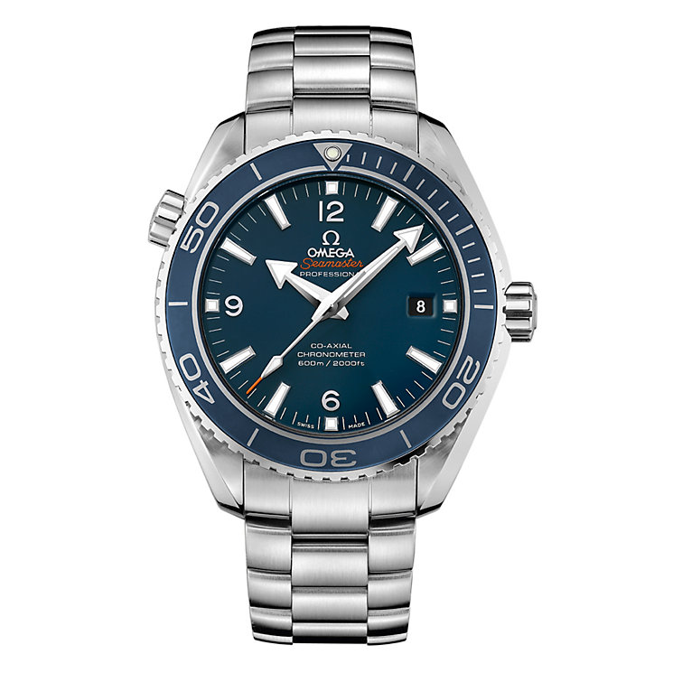 Omega Seamaster Planet Ocean 600M men's bracelet watch - Product number 8948062