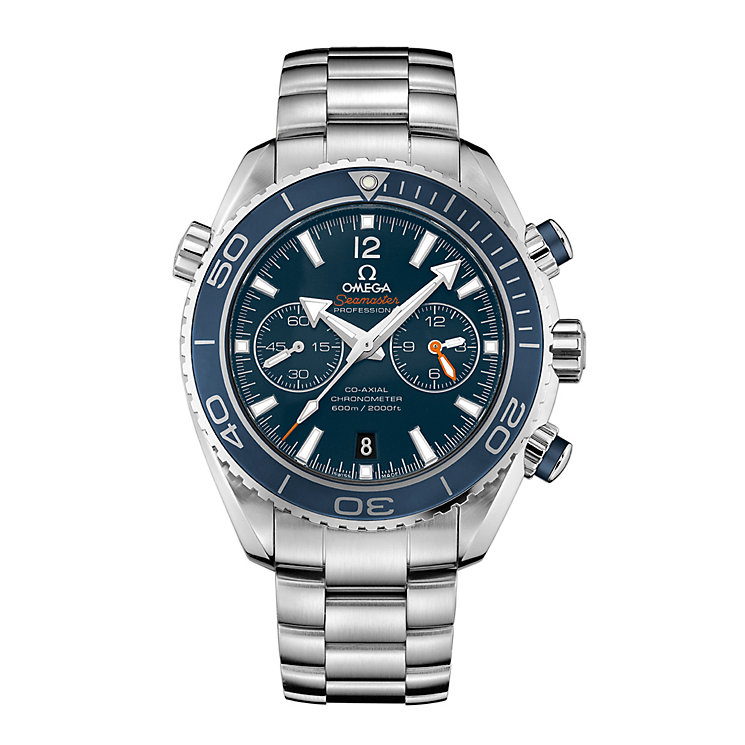 Omega Planet Ocean 600M men's stainless steel bracelet watch - Product number 8948070