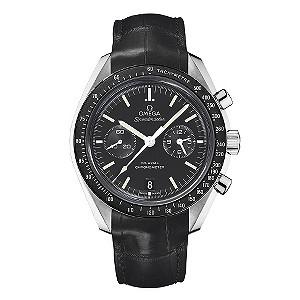 Omega Speedmaster men's black strap watch - Product number 8948135