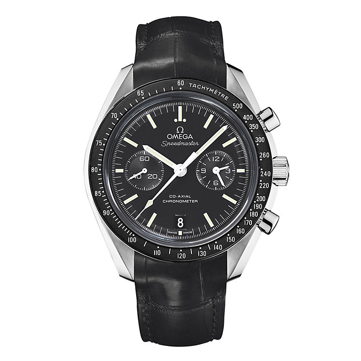 Omega Speedmaster men's black strap watch - Product number 8948135