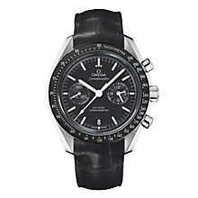 Omega Speedmaster Moonwatch men's black strap watch - Product number 8948135
