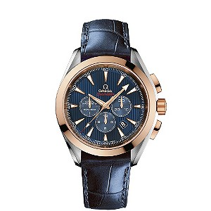 Omega Seamaster Olympic blue chronograph watch - Product number 8948194