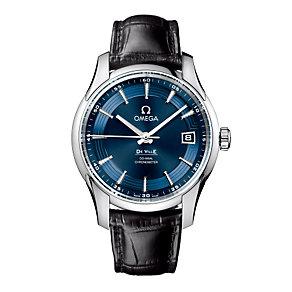 Omega De Ville men's black strap watch - Product number 8948267