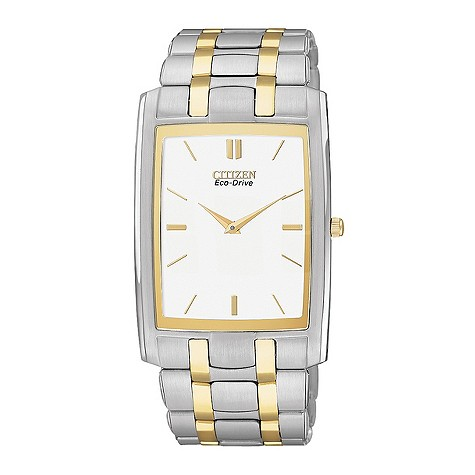 Citizen Eco-Drive gold plated